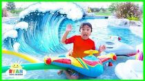 How Tsunamis are formed??? Educational Video for Kids wit Ryan ToysReview!!!