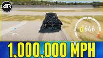 Forza Horizon 2 1,000,000 MPH WHEEL SPEED!!!