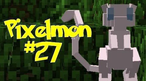 Minecraft Pixelmon - Episode 27 - OMG I FOUND A MEW!! (Pokemon Mod)