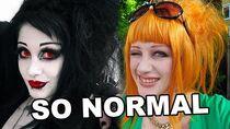 Goth Tries Normal Fashion Black Friday