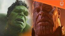 Hulk Vs Thanos in Avengers Infinity War...