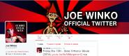 Twitter Screen Shot Joe Winko