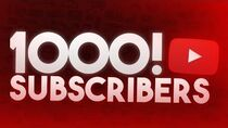 WE DID IT! 1000 SUBSCRIBERS!