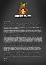 Nick Crompton's Explanation