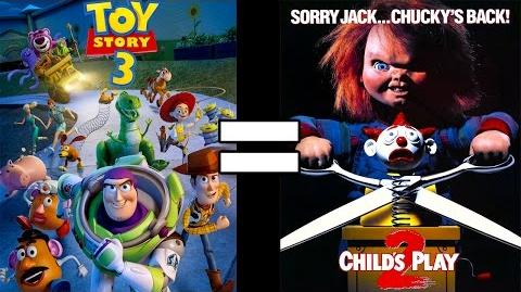 30 Reasons Child's Play 2 & Toy Story 3 Are The Same Movie feat