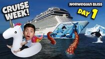 CRUISE WEEK ALASKAN ADVENTURE on The Norwegian Bliss!!!