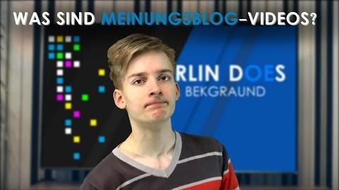 """Was Sind """"Meinungsblog""""-Videos?"""