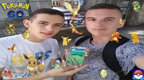 Hvatamo Pokemone u JAGODINI D Pokemon GO
