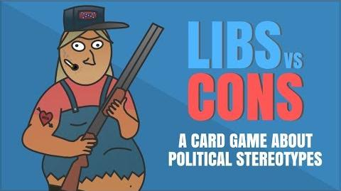 Libs vs Cons A Card Game About Political Stereotypes