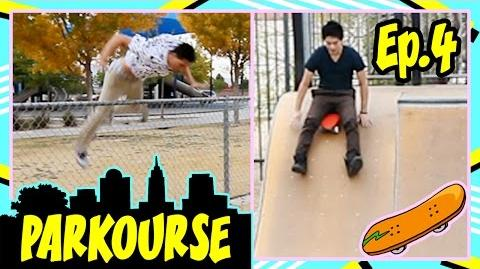 Parkourse at the Skate Park! (Ep