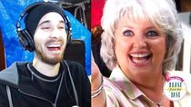 I CRIED FROM LAUGHING! - Mentally Ill Paula Deen Cooks Grandchildren And has Seizures Reaction!