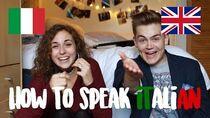 How To Speak Italian (Italy VS England) doyouknowellie