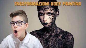 TRASFORMAZIONI BODY PAINTING