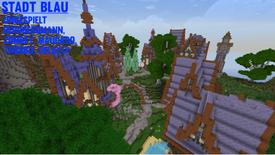 Minecraft NERO Stadt Blau