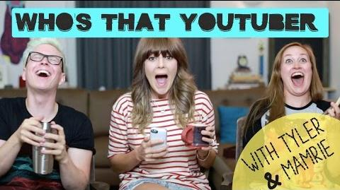 WHO'S THAT YOUTUBER W TYLER OAKLEY & MAMRIE HART Grace Helbig