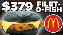 $379 McDonald's Filet-O-Fish Taste Test FANCY FAST FOOD
