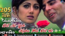 Dil Ne Yeh Kaha Hain Dil Se -HD VIDEO SONG Akshay, Suniel & Shilpa Dhadkan Hindi Romantic Song
