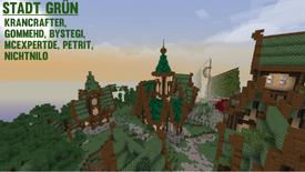 Minecraft NERO Stadt Grün