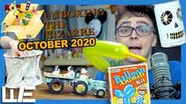 Unboxing the Bizarre (OCTOBER 2020) - HOLIDAY SUBSCRIPTION BOX