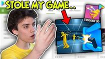 He Stole My Game, and made a cringe mobile Ad with it..