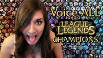 Voice ALL the League of Legends Champions!