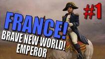 Civilization 5 Brave New World France Pt 1 (Emperor) - The Polynesian Border