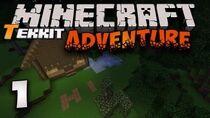 Minecraft Tekkit Part 1 - Getting Started!
