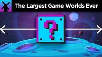 The True Size of the Biggest Game Worlds Ever