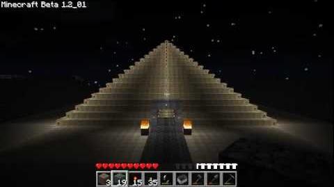 Minecraft Piramide de espelhos