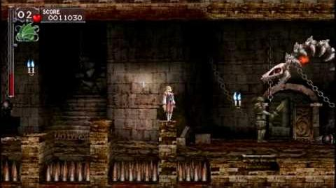 Castlevania The Dracula X Chronicles para PSP.
