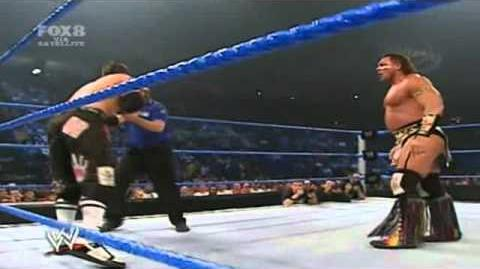The Miz Vs. Tatanka - The Miz In Ring Debut - WWE Smackdown 9 1 06