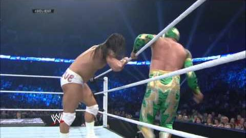 Bo Dallas debuts against Sin Cara SmackDown, May 23, 2014