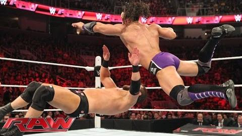Neville vs. Curtis Axel Raw, March 30, 2015