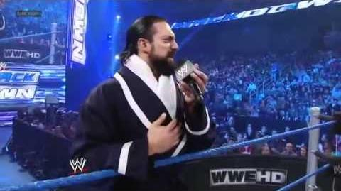 Damien Sandow debut WWE Smackdown 05 04 2012