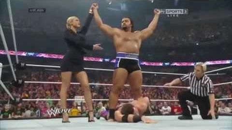 WWE Alexander Rusev DEBUT MATCH - 7 04 14 RAW