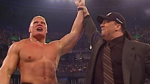 Brock Lesnar's WWE Debut