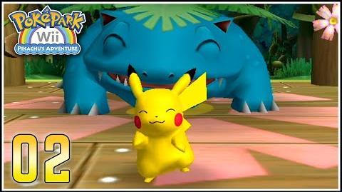 PokéPark Wii Capítulo 2 - ANIMANDO A VENUSAUR (p^-^)p