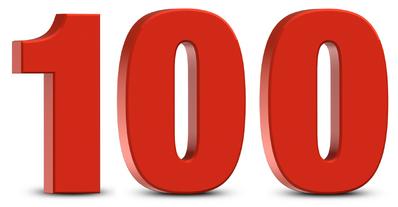 100 =D