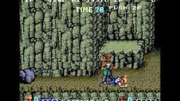 Palos en los arcades 1 - Double dragon. Technos. Arcade
