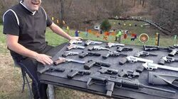 ¡¡¡Que Emoción!!! Disparando Armas de Fuego Calibre 22 hasta el 50, en Espańol y en 4K