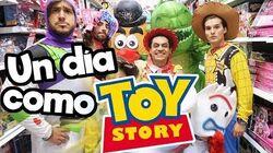 Un Día como personajes de Toy Story 4!! Memo Aponte