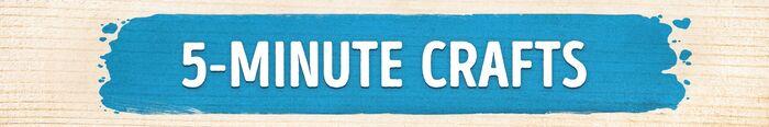 5-Minutes Crafts banner