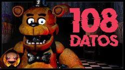 108 Datos que DEBES saber de Five Nights At Freddy's GG Games