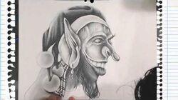 Drawing a Joker Troll - Free Style
