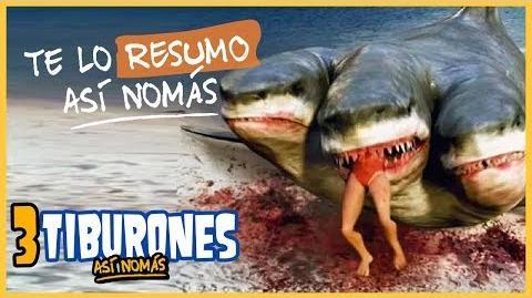 Te Lo Resumo 3 Películas de Tiburones Así Nomás