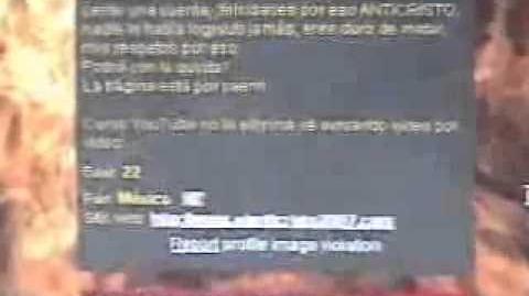 Recuerdos Loquenderos- Cuando ''Hackearon'' al Anticristo2007 de (ElSat2008)