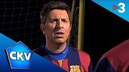 Messi falla penals