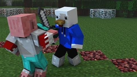 """Dejando Atrás mis Miedos"" - Animación Minecraft ♪ Parodia Wrecking Ball (Music Video)"