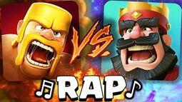 ¡Clash of Clans VS Clash Royale! RAP - AdryBrix-Antrax ☣