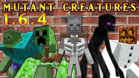 Mutant Creatures MOD minecraft ¡¡¡GUERRA DE MUTANTES¡¡¡